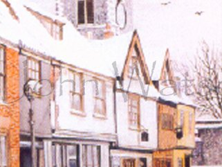 Princes St., Norwich, Norfolk. (watercolour) Image.