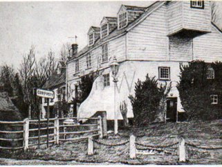 Corpusty  Mill,  pencil drawing Image.