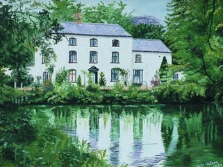 Cringleford Mill, oil painting Image.