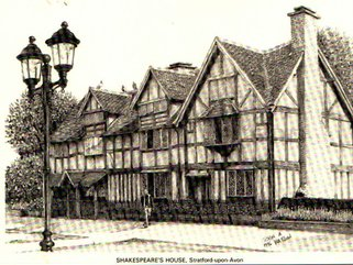 Shakespears  House Image.