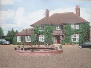 Andys House (pastel drawing) Image.