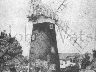 Stow Mill, (pencil drawing) Image.