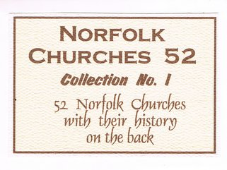 Norfolk Churches (pencil drawings) Image.